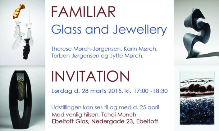 Karin Mørch - Familiar Glass and Jewellery